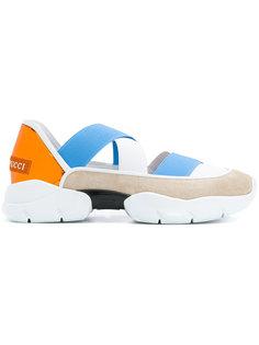 кроссовки с дизайном с ремешками Emilio Pucci