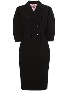 двубортное пальто с объемными рукавами Dolce & Gabbana