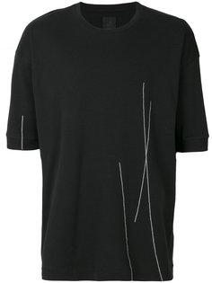 футболка с тонкими полосками Thom Krom