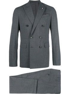 костюм Napoli с двубортным пиджаком Dsquared2