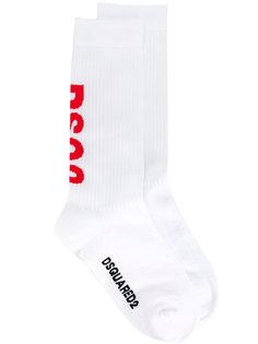 носки с логотипом Dsquared2