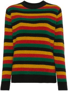 свитер с узором в полоску The Elder Statesman
