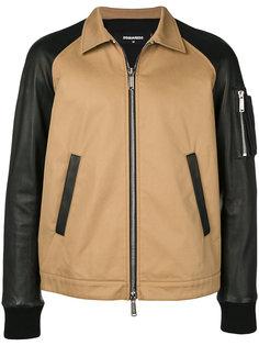 куртка с контрастными рукавами Dsquared2