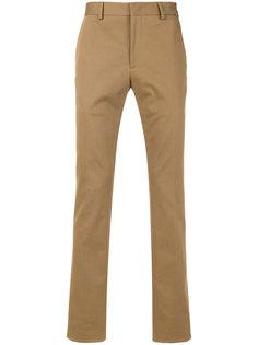 брюки с полоской по бокам Fendi