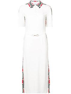 платье-миди с воротником-поло Gabriela Hearst
