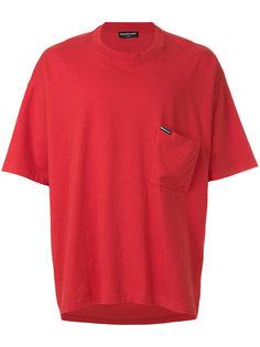 футболка мешковатого кроя с короткими рукавами Balenciaga