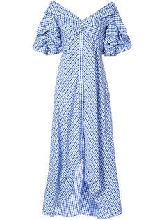 платье в клетку Sierra Johanna Ortiz