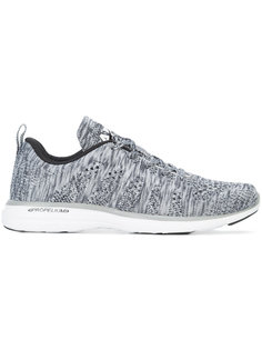 плетеные кроссовки со шнуровкой Apl