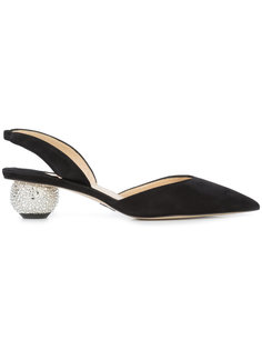туфли-лодочки на скульптурированном каблуке Paul Andrew
