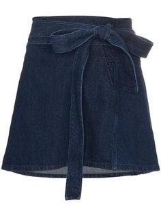 джинсовая мини-юбка JW Anderson