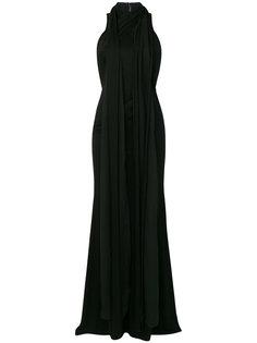 платье халтер с драпировкой  Givenchy