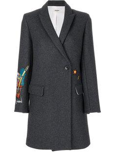 пальто с вышивкой Marco Deluxe Zadig & Voltaire