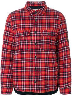 куртка-рубашка в клетку  Zadig & Voltaire