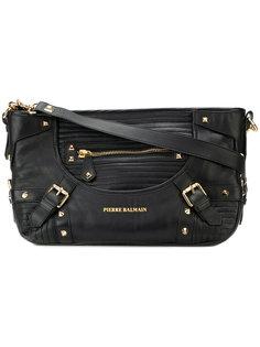 сумка на плечо с заклепками  Pierre Balmain