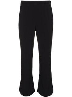 укороченные расклешенные брюки  Prada