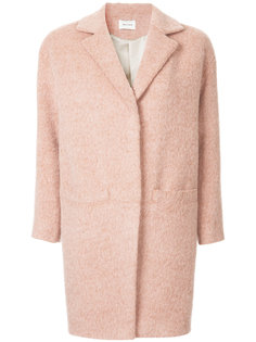 belted mid-length coat I Am Studio