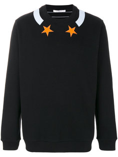 star embroidered sweatshirt Givenchy