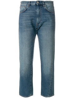 укороченные прямые джинсы Toteme