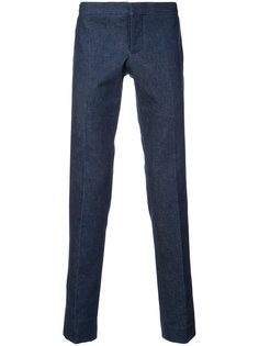 классические брюки скинни  Thom Browne