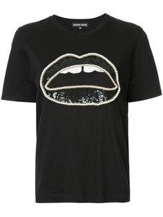 футболка с губами Markus Lupfer