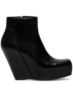 110 concealed wedge boots Rick Owens