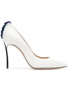 туфли-лодочки Blade с контрастной деталью Casadei