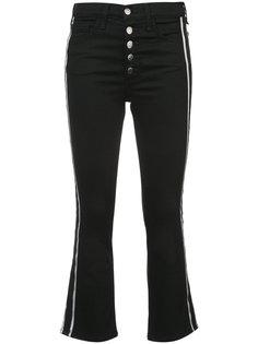 расклешенные джинсы с лампасами Veronica Beard