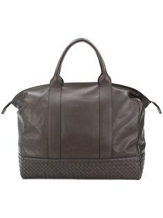 объемная сумка-тоут с плетеным дизайном Bottega Veneta