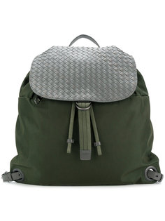 плетеный рюкзак  Bottega Veneta