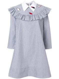 платье-рубашка в полоску Vivetta