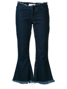 расклешенные джинсы Marquesalmeida
