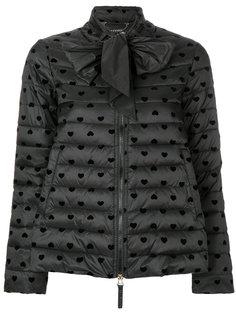 стеганая куртка с завязкой на бант Twin-Set