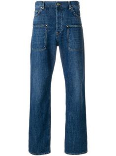 джинсы с подвернутыми манжетами JW Anderson