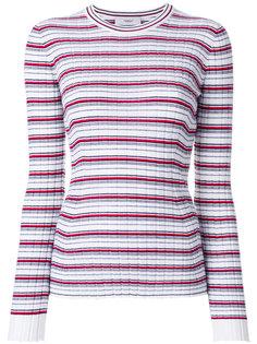 свитер узкого кроя с узором в полоску Pringle Of Scotland
