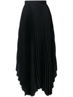 асимметричная плиссированная юбка  Pringle Of Scotland