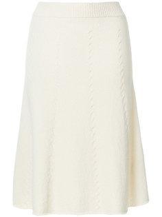 А-образная трикотажная юбка  Pringle Of Scotland