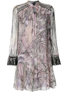 платье с кружевной отделкой Just Cavalli
