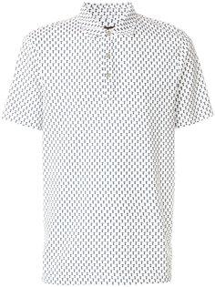 футболка-поло с мелким принтом Michael Michael Kors
