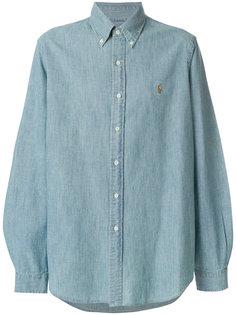 джинсовая рубашка с вышивкой логотипа Polo Ralph Lauren