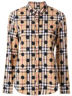 рубашка с узором в горох Burberry