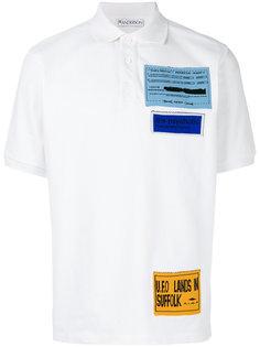 футболка-поло с нашивками JW Anderson