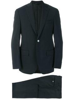 straight-fit formal suit Delloglio