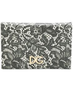кошелек с кружевным узором Dolce & Gabbana