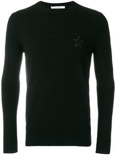 джемпер с заплаткой Star Givenchy