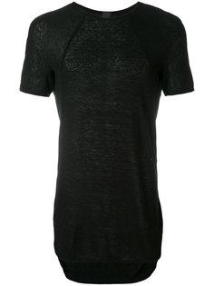 футболка с закругленным подолом Bernhard Willhelm