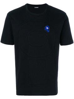 панельная футболка с аппликацией Raf Simons