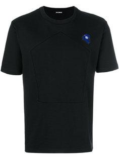 футболка с вышитой заплаткой Raf Simons