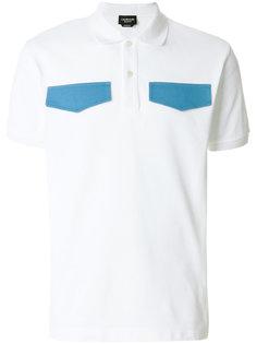 футболка-поло с контрастными карманами  Calvin Klein 205W39nyc