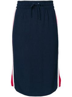 юбка с полосками по бокам Zoe Karssen