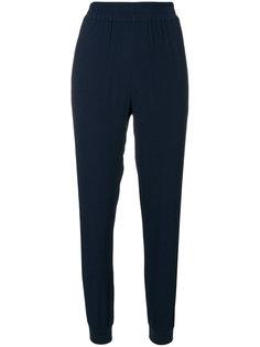 спортивные брюки узкого кроя с полосками по бокам Zoe Karssen